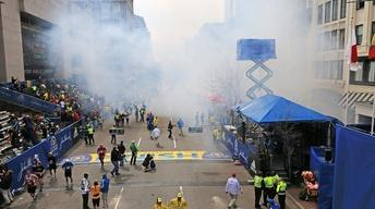 Spectators, Runners Disperse After Deadly Boston Blasts