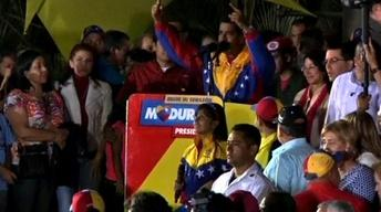 Chavez Successor Maduro Wins Election by Narrow Margin