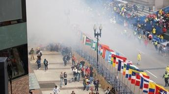 Boston Marathon Finish Line Turns to Bloody Crime Scene