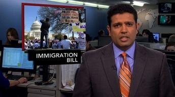 News Wrap: Bipartisan Immigration Reform Bill Has Debut