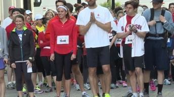 Americans Run to Honor Victims of Boston Bombings