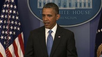 President Obama Holds News Conference on Second Term