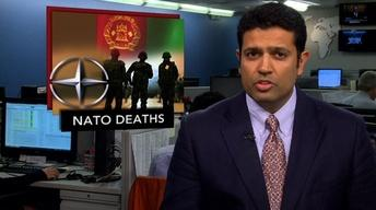 News Wrap: Three NATO Troops Killed by Afghanistan Bombing