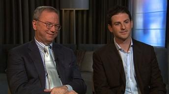 Google's Schmidt, Cohen Describe a 'New Digital Age'