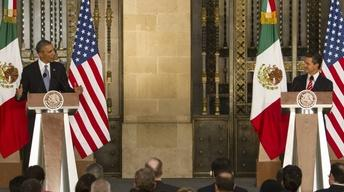 Obama Talks Trade, Security, and Immigration on Mexico Trip