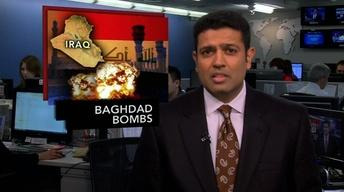 News Wrap: Bomb Attacks in Iraq Kill at Least 10 People