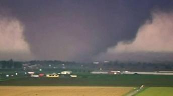 Massive, Mile-Wide Tornado Leaves Wake of Destruction