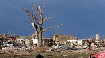 Okla. Town Confronts Reality of Rebuilding After Tornado