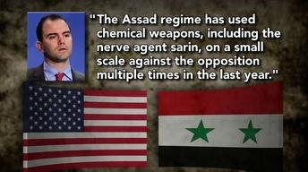 U.S. Says Assad Regime Has Used Chemical Weapons