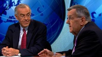 Shields and Brooks on Farm Bill Failure, Obama in Berlin