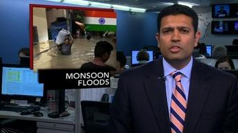 News Wrap: Monsoon Ravages Northern India
