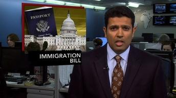 News Wrap: Immigration Bill Clears Hurdle in Senate