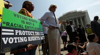 High Court Strikes Down Key Provision of Voting Rights Act