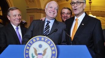 Bipartisan Senate Majority Passes Immigration Reform