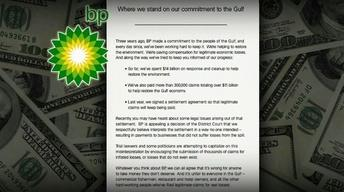 Are the Odds Against BP in Appeal Over Damage Claims?