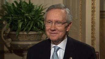 Watch Harry Reid's Full PBS NewsHour Interview