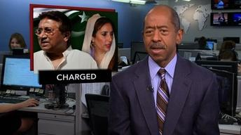 News Wrap: Pakistan Charges Former President