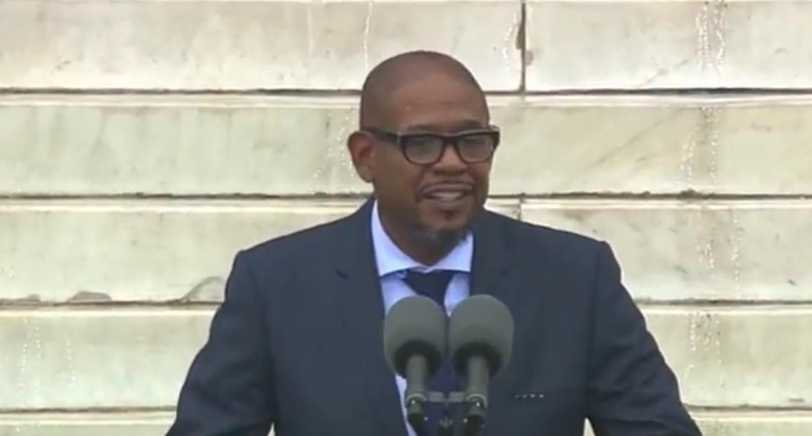 Actor Forest Whitaker Speaks at March Anniversary image