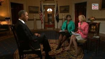 Exclusive PBS NewsHour Interview with President Obama