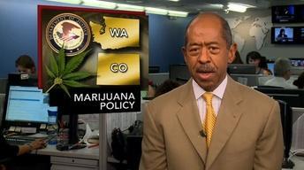 News Wrap: U.S. Won't Block Marijuana Laws in Colo., Wash.