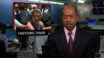 News Wrap: Nyad Becomes First to Swim Florida Strait
