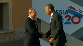 Syria Tensions Dominate G-20 Summit; Russia Seen as Obstacle