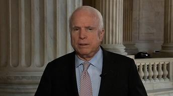 McCain: Call for Action, Pause Hurts Obama's Case on Syria