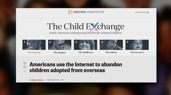 Parents Turn to Internet to Give Away Foreign Adoptees