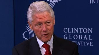 President Clinton Reflects on Making a Positive Impact