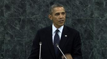 At UN, Obama Offers Tough Words on Syria