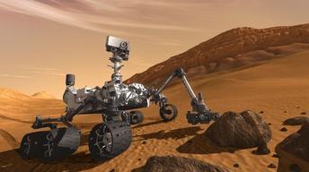 """The Mars Rover, """"Curiosity"""""""