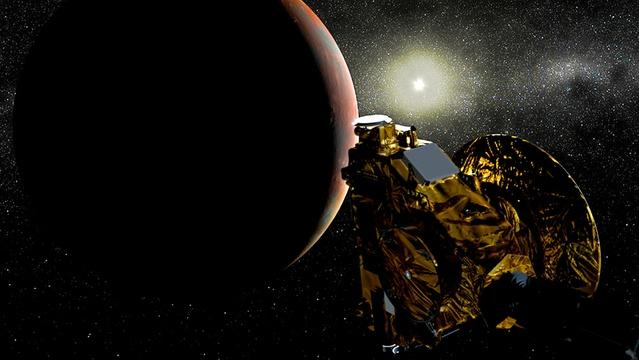 A Pluto Flyby Dress Rehearsal