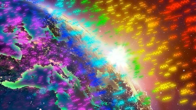 Gravity Changes Colors