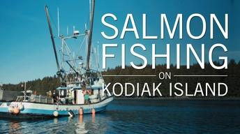 Salmon Fishing on Kodiak Island