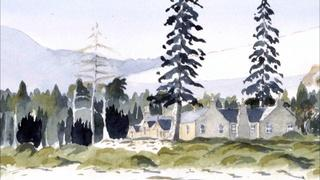Scottish Watercolors by HRH The Prince of Wales