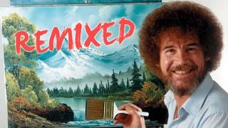 Happy Little Clouds: Bob Ross Remixed