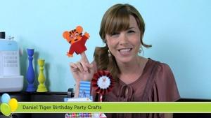 Daniel Tiger Birthday Party Crafts