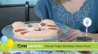 Daniel Tiger Birthday Party Food