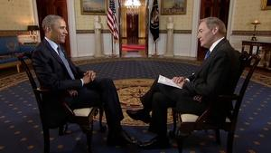 Charlie Rose Interviews President Obama