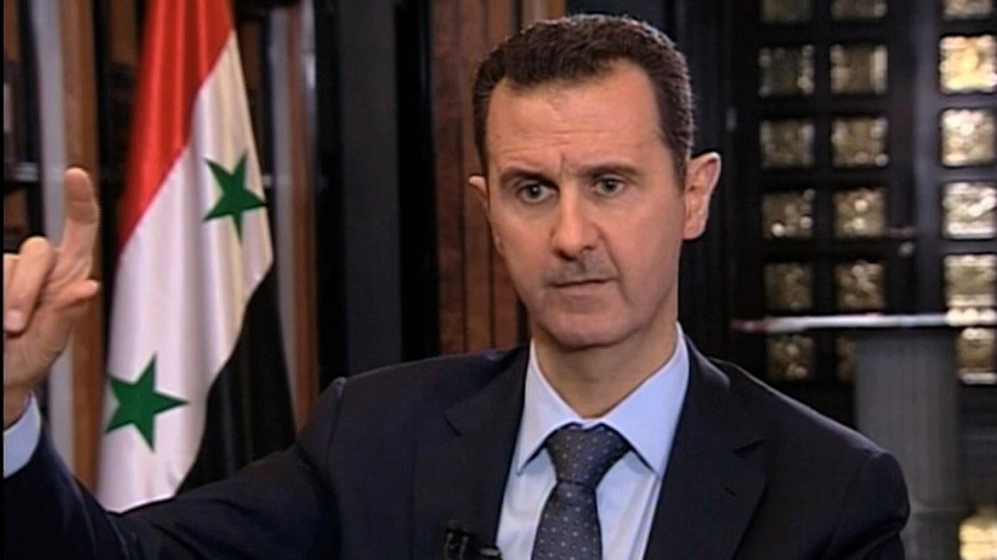 Syria's Assad: No Evidence of Chemical Weapons image