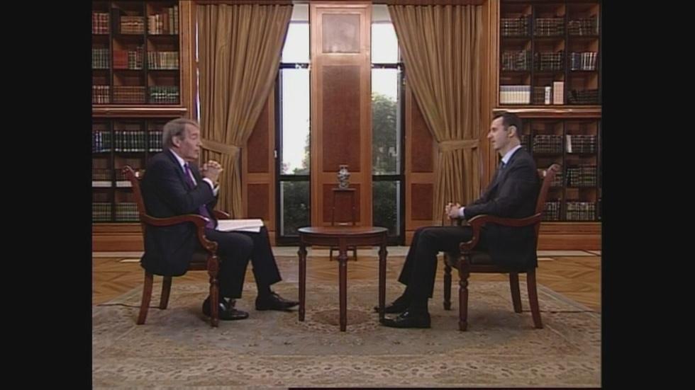 Syria's Assad on Obama's 'Red Lines' image