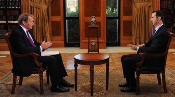 Charlie Rose interviews Syrian President Assad – Preview