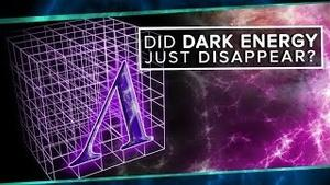 Did Dark Energy Just Disappear?