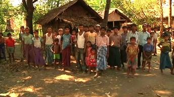 Atrocities in Myanmar; Jesus and Resurrection