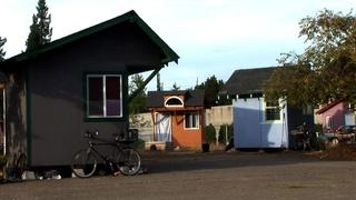 Tiny Houses for the Homeless; Joshua Bell; Sukkot