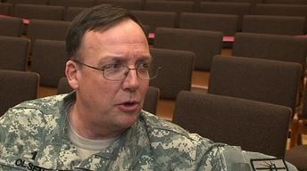 Lt. Col. Eric Olsen Interview image