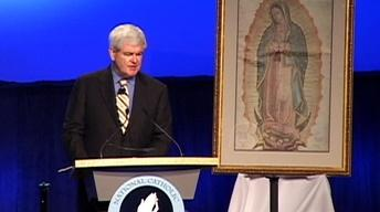 "Newt Gingrich: ""The Constant Pressure of Secularism"""