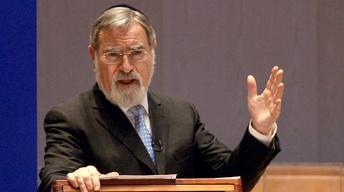 A Conversation with Rabbi Jonathan Sacks