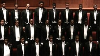 "Morehouse College Glee Club Performing ""Seek Ye First"""