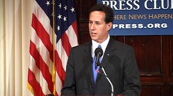 "Rick Santorum: America Is a ""Moral Enterprise"""